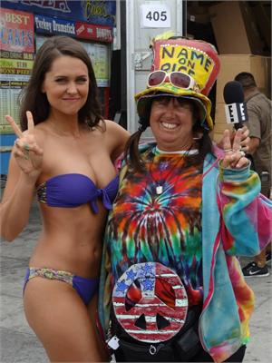 Bikini Girl Interviews me for E News June 6, 2013