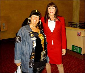 Anjelica Huston book signing in Glendale at the Alex Theater November 20, 2014.jpg