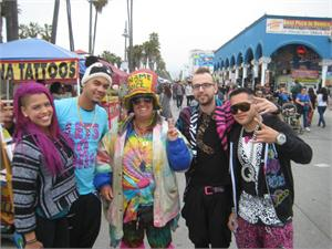 LA FREAK CREW LMFAO APRIL 13, 2013
