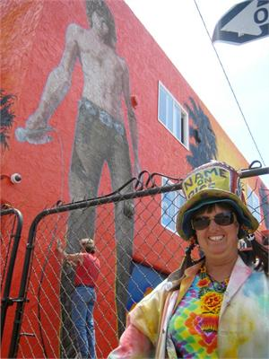 With Rip Cronk in Venice, California, July 2012
